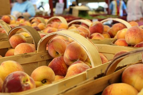 yummy peaches